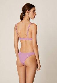 OYSHO - Bikini bottoms - mauve - 2