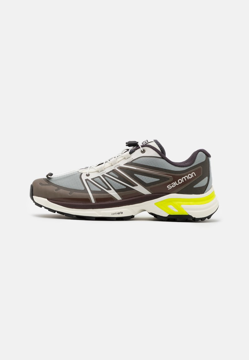Salomon - SHOES XT-WINGS 2 ADV UNISEX - Sneakers basse - quarry/vanilla ice/green geckog