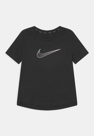 ONE - Print T-shirt - black/white