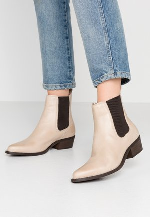 BIACOCO CHELSEA WESTERN - Classic ankle boots - natural