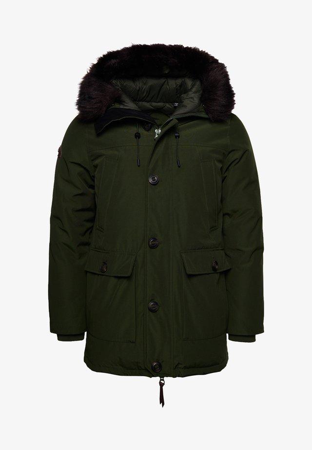 ROOKIE - Abrigo de plumas - rifle green