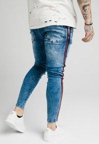 SIKSILK - Jeans Skinny Fit - midstone - 4