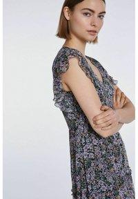 SET - Maxi dress - black violett - 3
