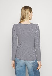 Anna Field - Long sleeved top - dark blue/white - 2