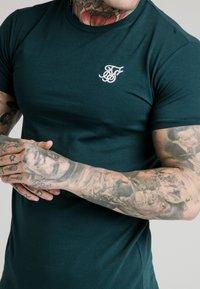 SIKSILK - STRAIGHT GYM TEE - Basic T-shirt - ocean green - 4