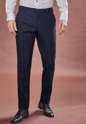 EMPIRE MILLS SIGNATURE  - Oblekové kalhoty - blue