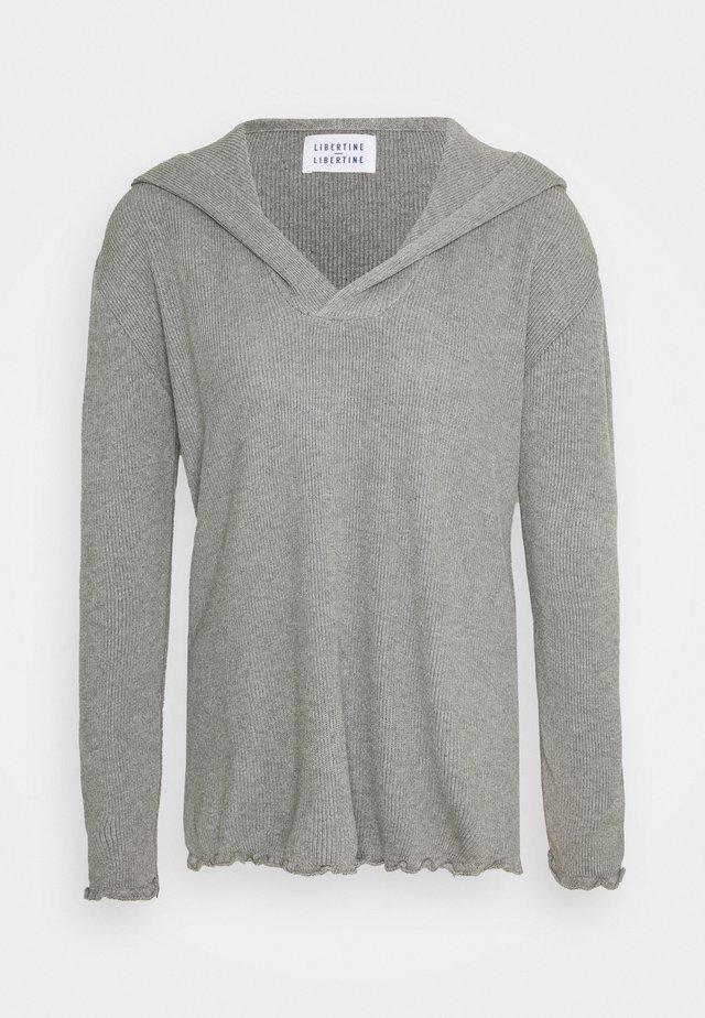 MISTY - Felpa con cappuccio - grey melange