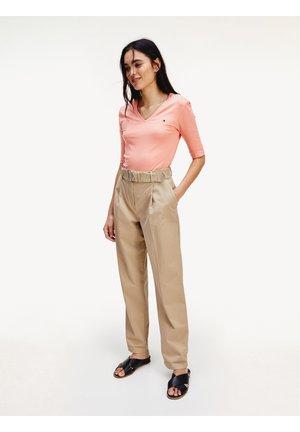 ESS PIMA - Trousers - beige