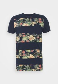 INDICODE JEANS - EPSLEY - Print T-shirt - navy - 3