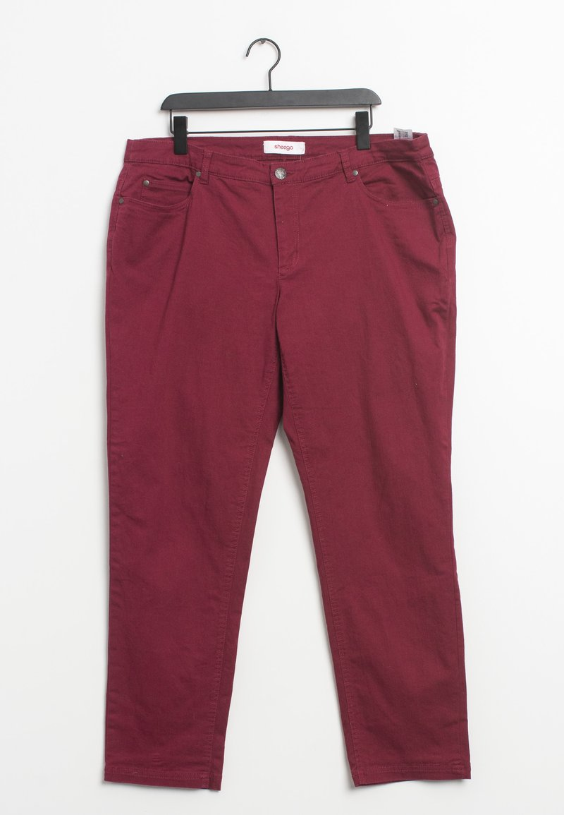 Sheego - Trousers - red