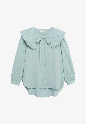 HONEY - Button-down blouse - vert pastel