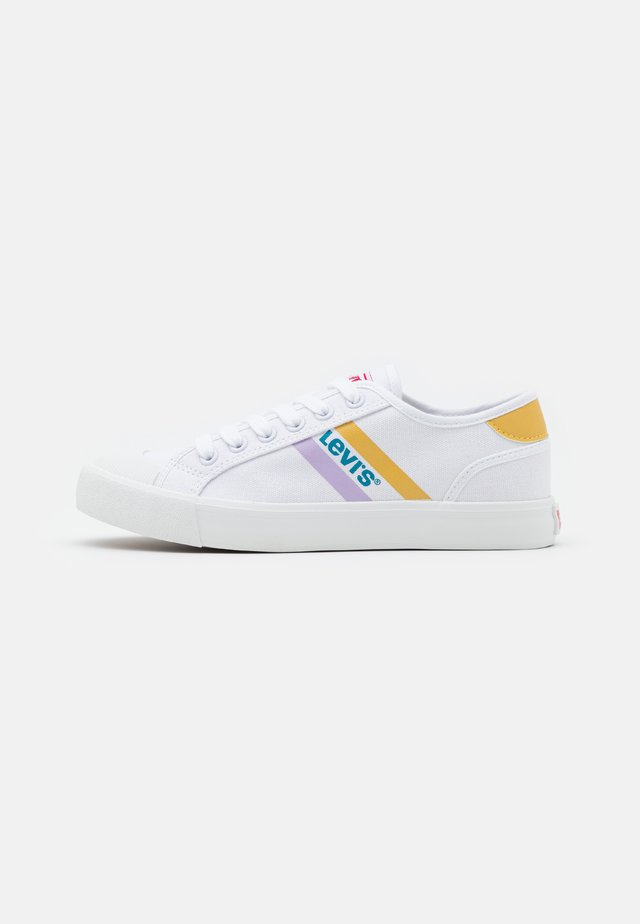 MISSION UNISEX - Sneakers basse - white/yellow