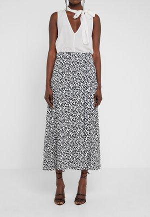 TANAKA - Maxi sukně - white