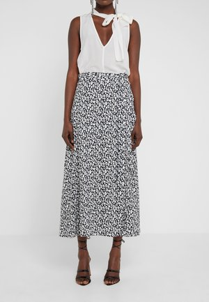 TANAKA - Falda larga - white
