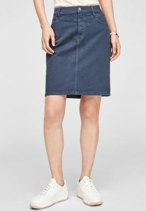 Pencil skirt - faded blue