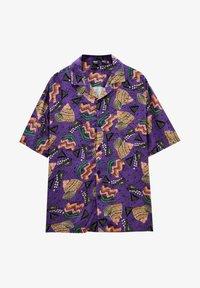 PULL&BEAR - Shirt - purple - 4
