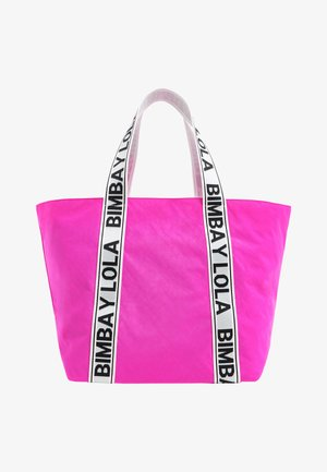 Tote bag - chewing gum pink