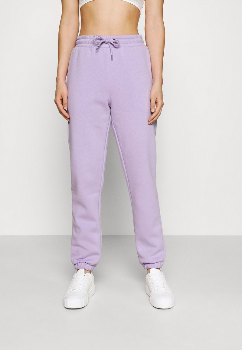 Monki - Pantaloni sportivi - lilac purple medium dusty