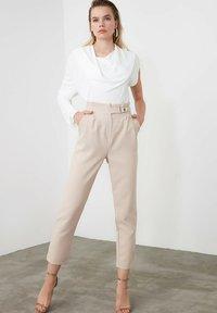 Trendyol - Trousers - beige - 1