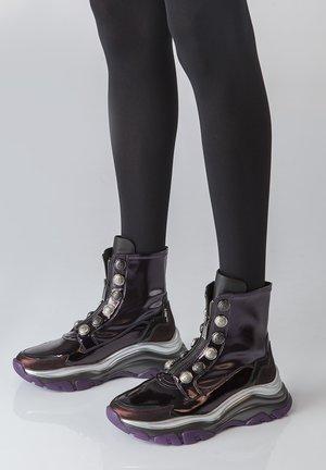 MERCURY - Korte laarzen - purple