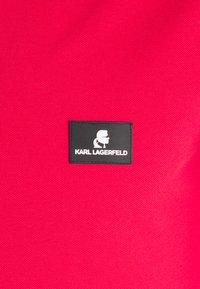 KARL LAGERFELD - CÔTE D'AZUR - Poloshirts - red - 2