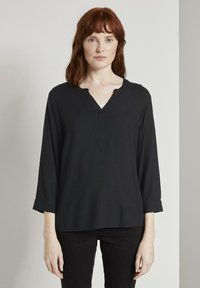 TOM TAILOR - Blouse - black - 0