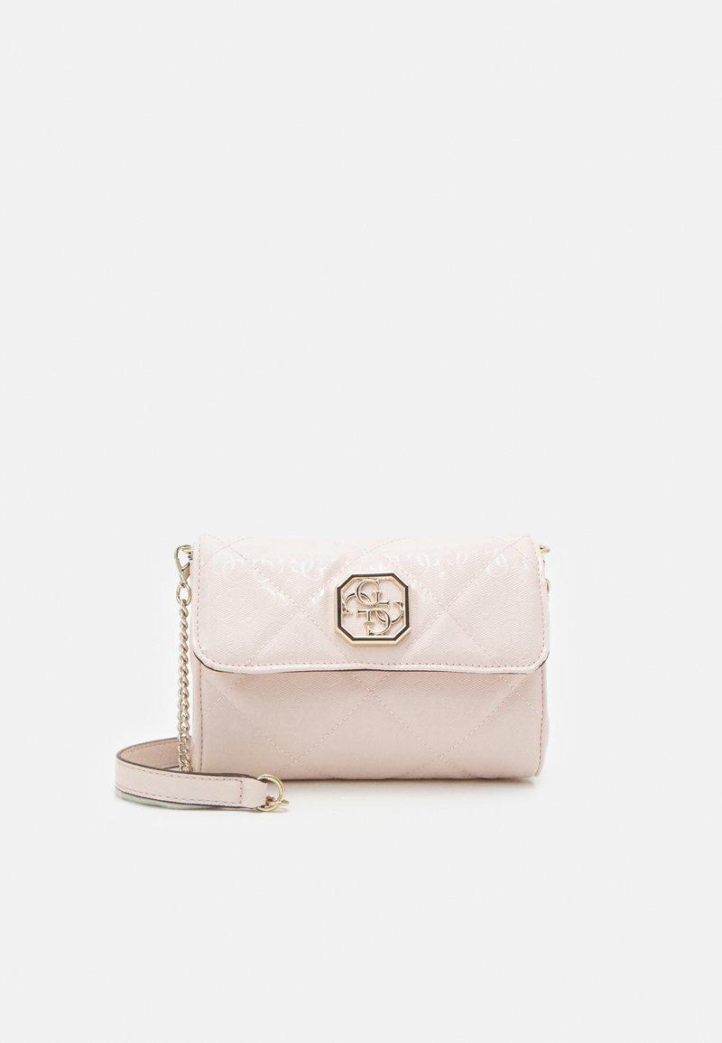 Guess - DILLA XBODY BELT BAG - Across body bag - blush