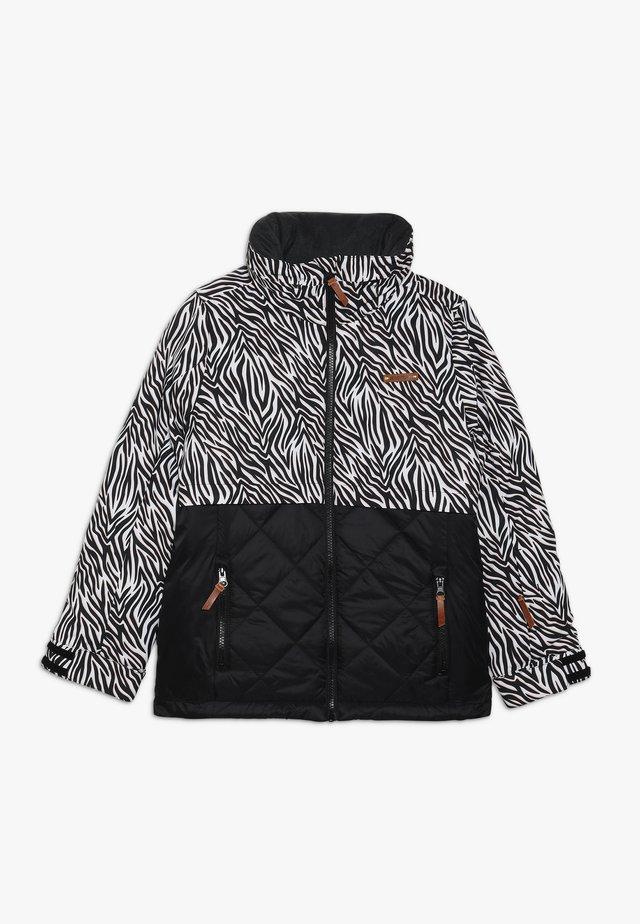 ALULA JUNIOR - Ski jacket - black