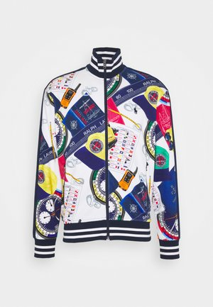 Training jacket - white/multi-coloured