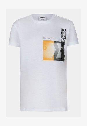 LUCAS TSHIRT - T-shirt print - white