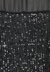 Wallis - SEQUIN TEE - Print T-shirt - black - 2