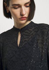 Bruuns Bazaar - ALEXANDRIA CAMARI DRESS - Shirt dress - navy blue - 5