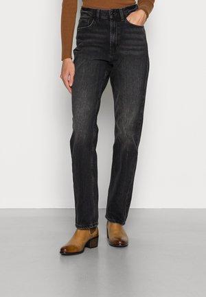 NEW STRAIGHT - Straight leg jeans - black dark wash