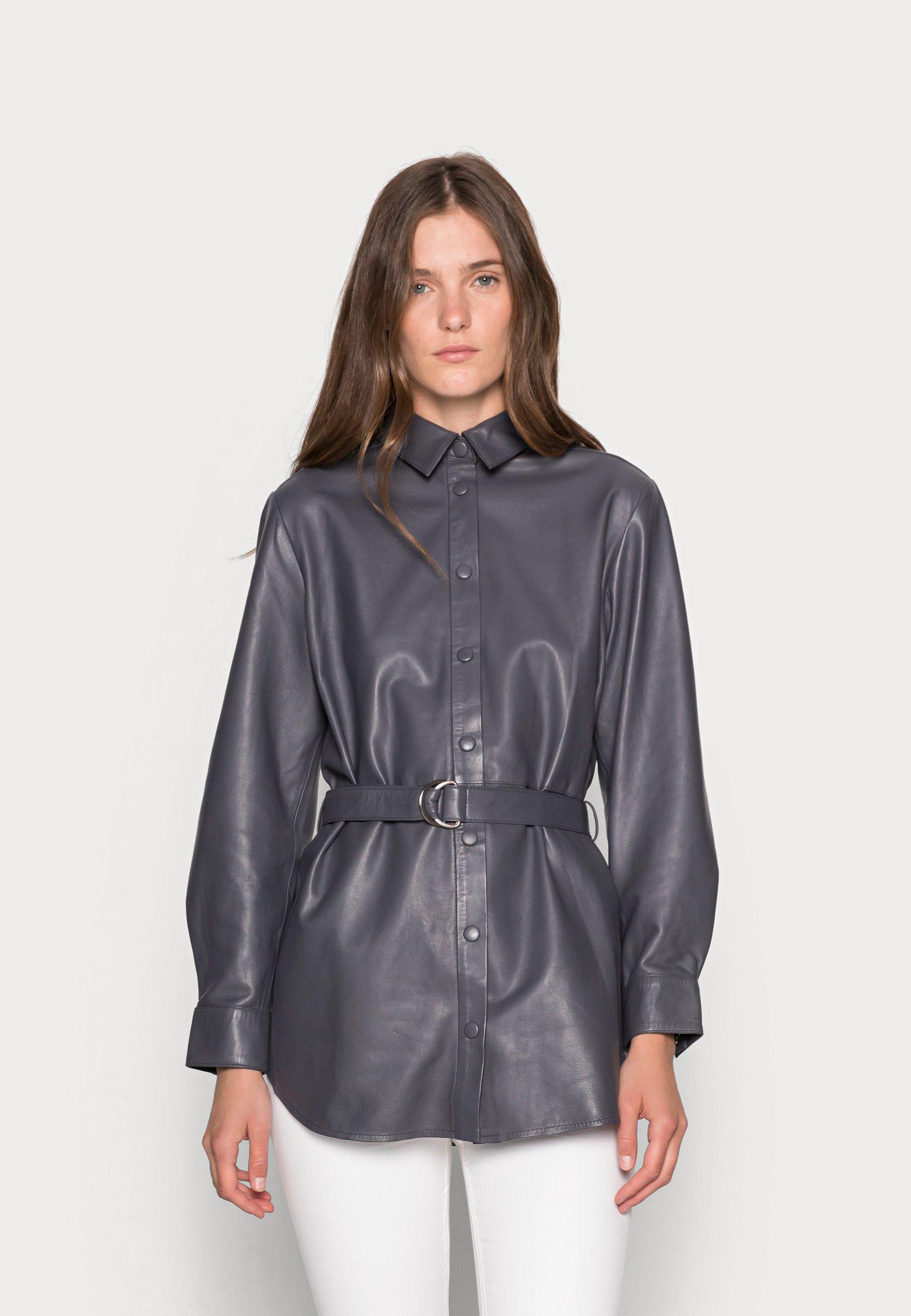 Femme ALUNA LEATHER - Veste en cuir