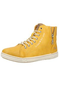 Mustang - Sneaker high - yellow - 2