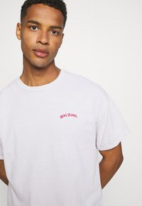BDG Urban Outfitters - LOGO EMBROIDERED TEE UNISEX - T-paita - offwhite - 4