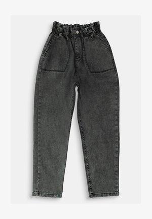 Straight leg jeans - grey dark washed