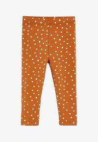 Next - SPOT PRINT - Leggings - Trousers - brown - 0