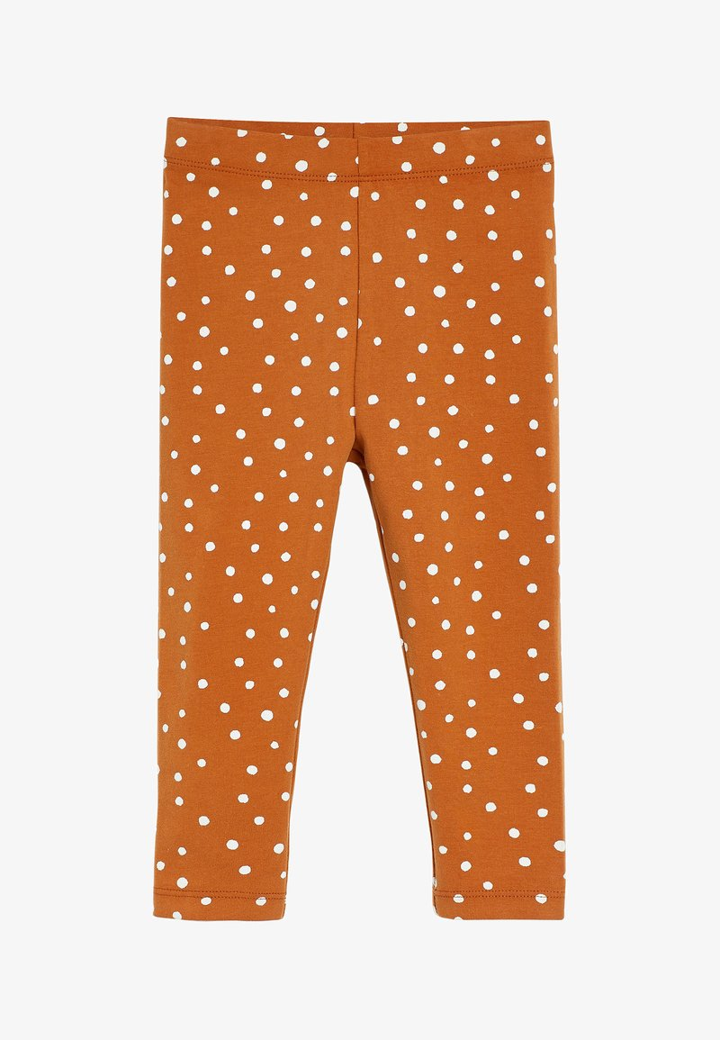 Next - SPOT PRINT - Leggings - Trousers - brown