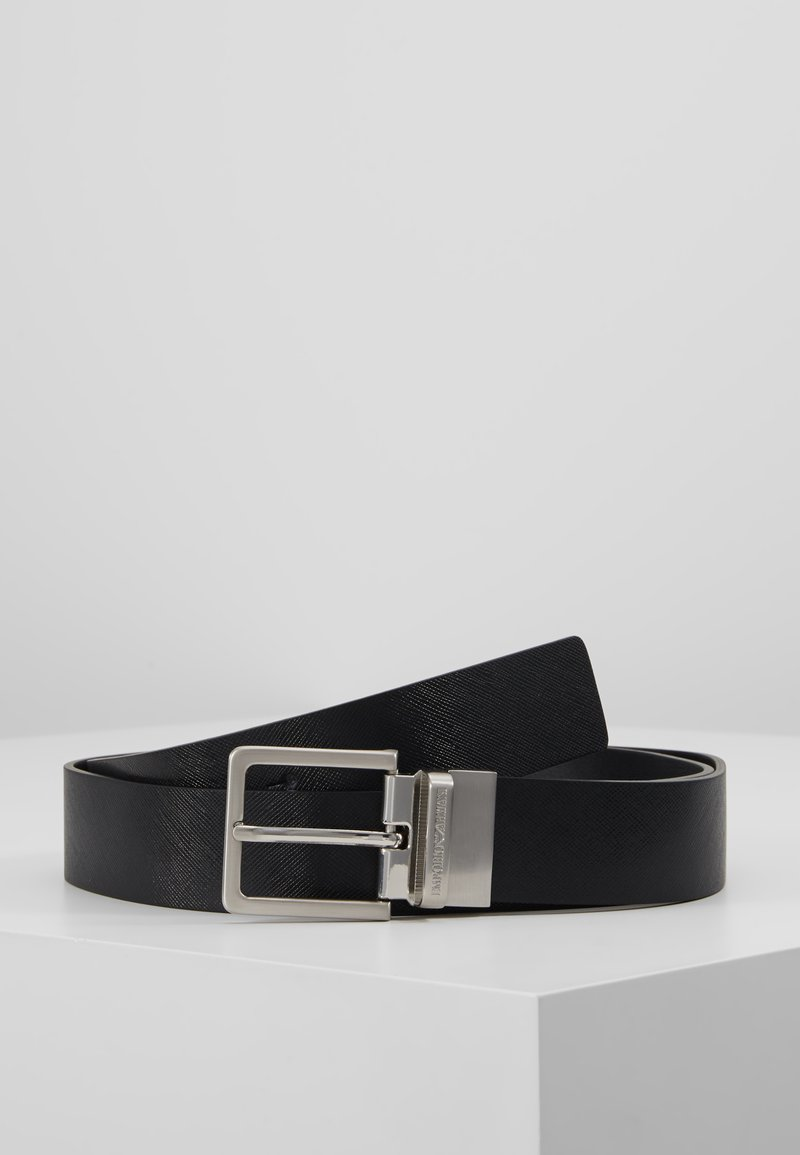 Emporio Armani - GIFT BOX BELT - Belt - nero