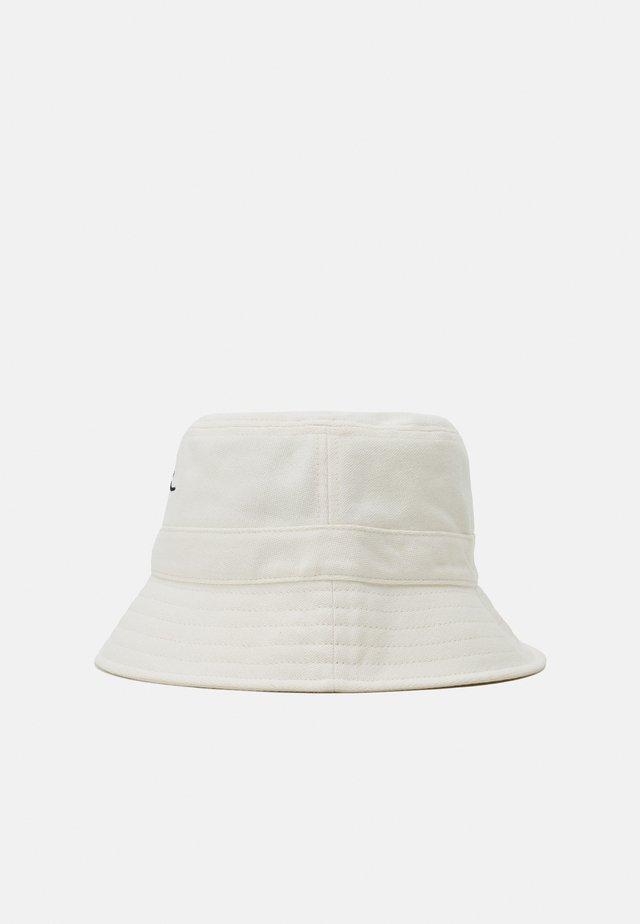 SIGNATURE BUCKET HAT UNISEX - Hoed - off white