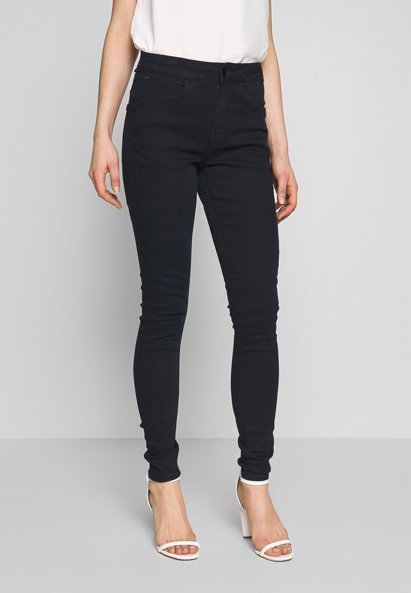G-Star - CITI YOU HIGH SUPER SKINNY - Jeans Skinny Fit - worn in midnight wp