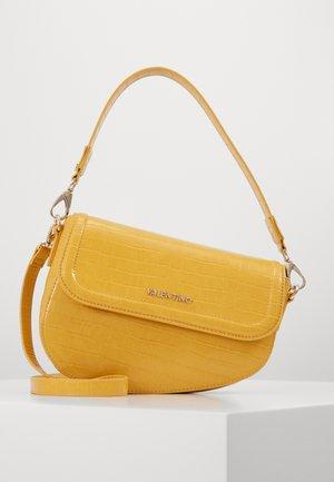 BICORNO - Handbag - mostarda