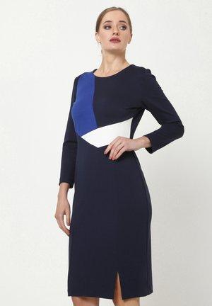 LAIMA - Shift dress - blau, kornblumenblau