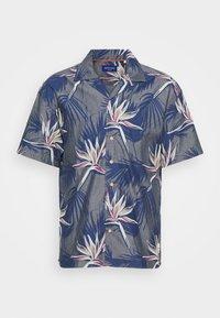 Jack & Jones - JORFLORAL SHIRT - Shirt - navy peony - 4