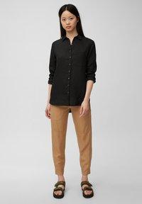 Marc O'Polo - Button-down blouse - dark atlantic - 1