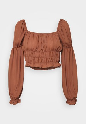 FERN TOP - Blouse - burnt brick