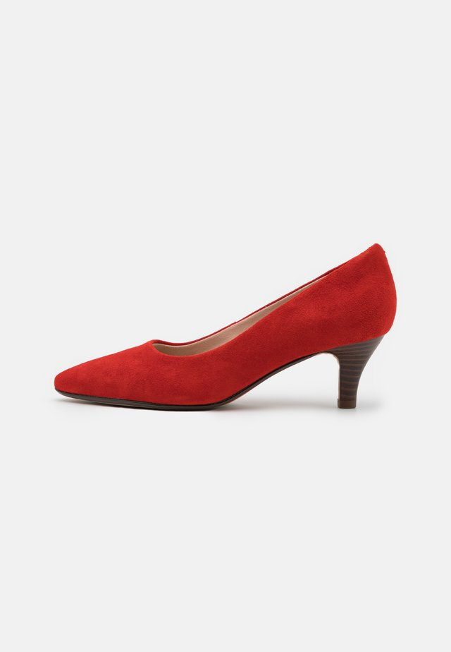 LINVALE JERICA - Tacones - red