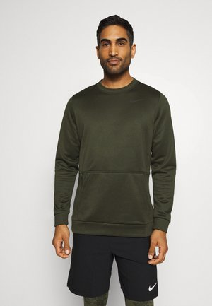 CREW STANDARD FIT - Mikina - sequoia/black