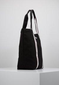 KARL LAGERFELD - KARL WEBBING SHOPPER - Tote bag - black - 3